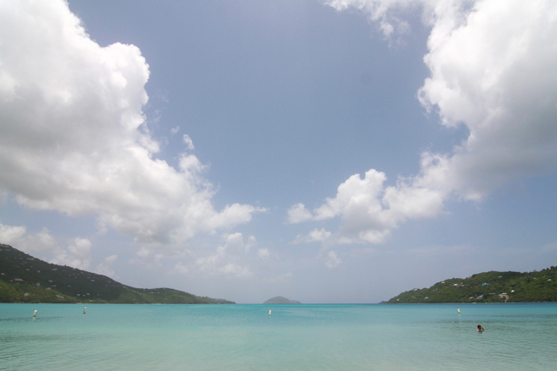 Beach Retreat to Magens Bay