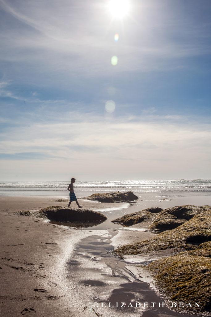 Lincoln City Beach, Oregon