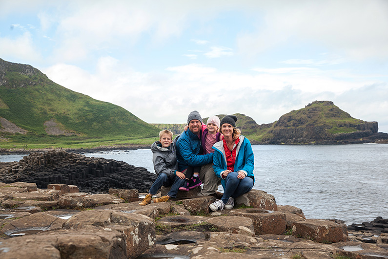 Hiking Giant's Causeway with Kids :: Northern Ireland